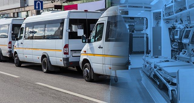Mobile unit UV and ambulance